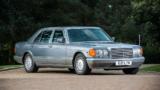 La Mercedes 560 SEL appartenuta a re Hussein di Giordania.