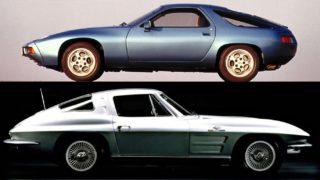 Porsche 928 e Corvette. Queste due auto hanno molto in comune: il designe Tony Lapine.
