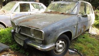 La Renault 16 abbandonata in Svezia.