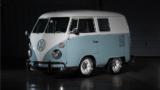 Questo Volkswagen Bulli è stato modificato dal Gas Monkey Garage per una puntata del programma televisivo sulle auto d'epoca Fast N' Loud.