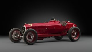 Una Alfa Romeo della Scuderia Ferrari del 1934.