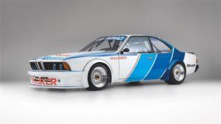 BMW 635 CSi è una auto da corsa degli anni 80.