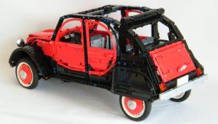 La Citroen 2 Cavalli di Lego.