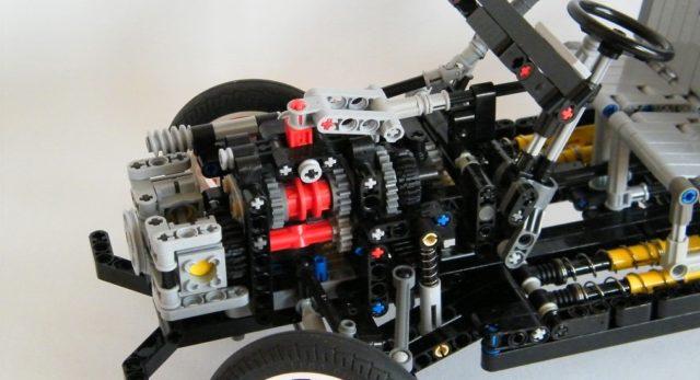 Il motore a due cilindri della Citroen 2 Cavalli.