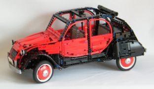 Questa Citroen 2 Cavalli Charleston è fatta di Lego.