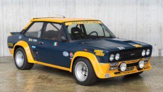 Duemila Ruote, una Fiat 131 Abarth venduta all'asta di RM Sotheby's a Milano Autoclassica.