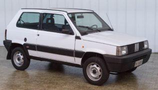 La Fiat 4x4 venduta all'asta Duemila Ruote a Milano AutoClassica.