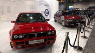 Lancia Delta Integrale e Thema 8.32 esposte a Milano Autoclassica.