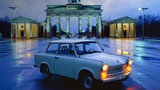 Trabant a Berlino.