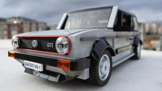 La Volkswagen Golf GTI di Lego deve essere votata per andare in produzione.