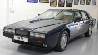 Una Aston Martin Lagonda in vendita a 112.000 euro.