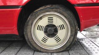 Lo pneumatico originale.