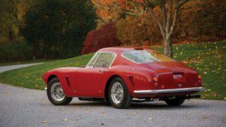 Il retro della Ferrari 250 GT SWB Betlinetta.