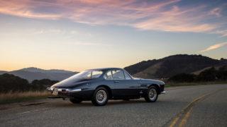 Il retro della Ferrari in vendita.