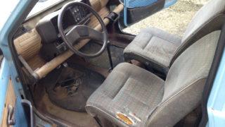 I sedili della Fiat Panda usata e gli interni.
