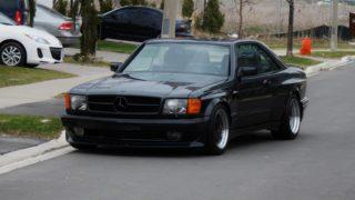 La Mercedes n560 SEC in vendita.