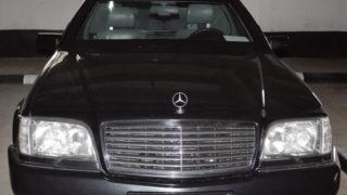 La Mercedes di Vladimir Putin. è in vendita a 1,3 milioni di euro.
