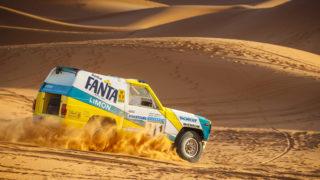Restaurato, questo Nissan Patrol ha corso la Parigi Dakar.