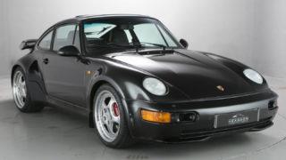 La Porsche 964 Turbo 3.6 è un modello raro.
