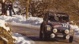 Una Citroen Dyane al rally Montecarlo Historique