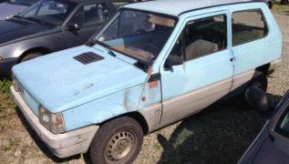 Lo stato della carrozzeria della Fiat Panda.