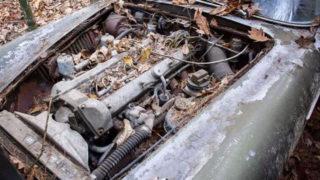 La Aston Martin DB4 monta un motore a sei cilindri in linea.