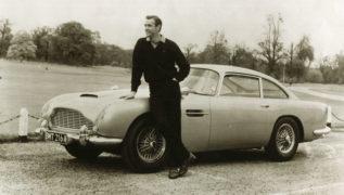 La Aston Martin di James Bond.