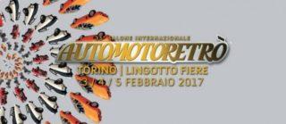 Automotoretrò 2017 si terrà dal 3 al 5 febbraio a Lingotto Fiere, Torino.