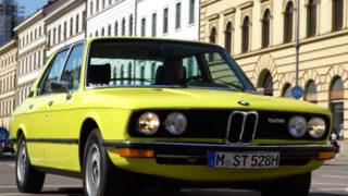 La BMW Serie 5 prima serie è stata lanciata nel 1972.