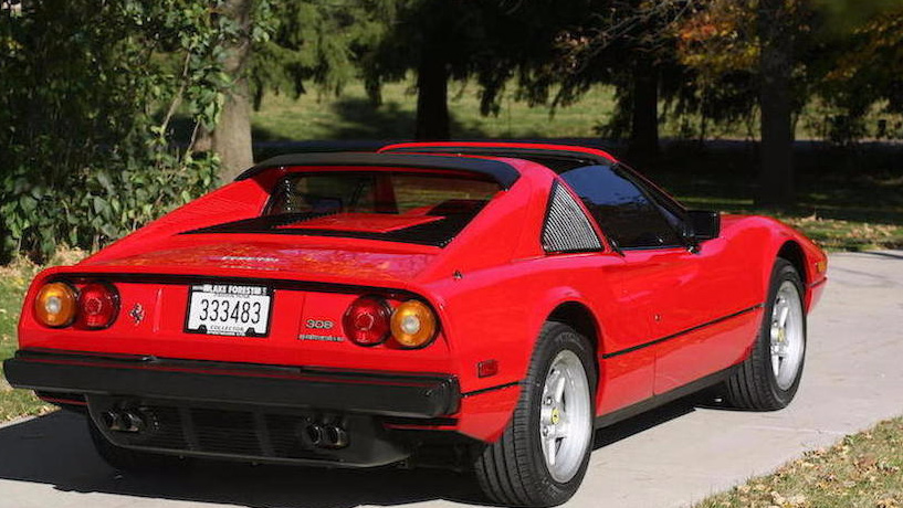 La Ferrari 308 Di Magnum P I 232 Una Rarit 224 Quartamarcia
