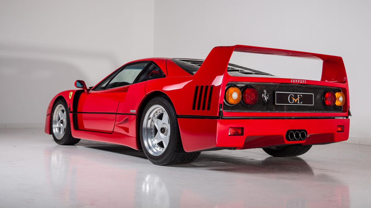 In vendita la Ferrari F40 di Eric Clapton