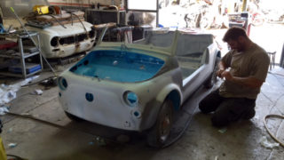Fiat 500 Jolly.