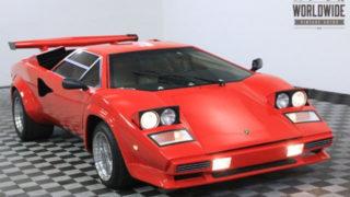 Lamborghini Countach replica in vendita.