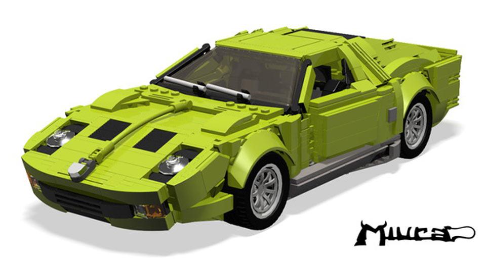 La Lamborghini Miura Di Lego Cerca Fan Quartamarcia