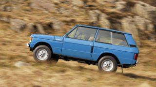 Range Rover 1970, la prima serie del Suv.