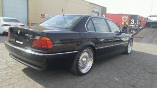 La BMW Serie 7 di Tupac Shakur.