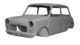 La carrozzeria per la Mini MK1 prodotta da British Motor Heritage
