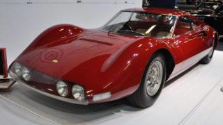 La Ferrari Dino Prototipo venduta a Retrmobile Parigi per 4,4 milioni di euro.