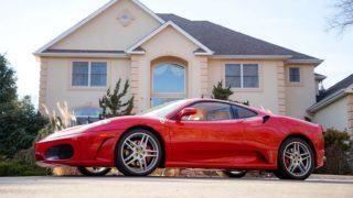 La Ferrari F430 del presidente degli Stati Uniti Donald Trump è in vendita.