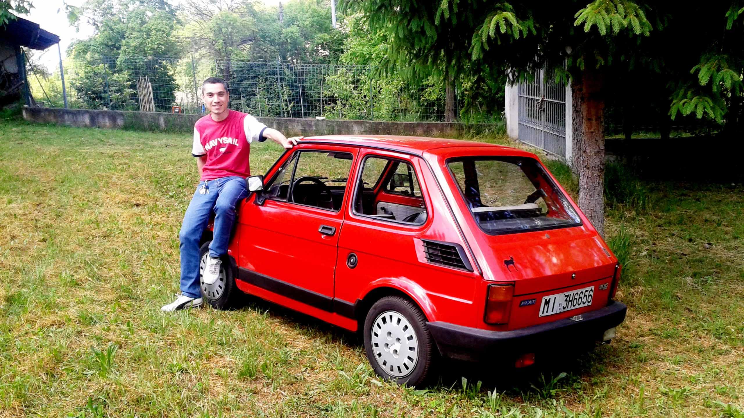 FIAT 126  BIS PARAURTI  POSTERIORE 126  FSM