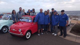 Il raduno Fiat 500 in Australia.