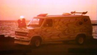 Pubblicità Ford che sponsorizza i furgoni nel 1976