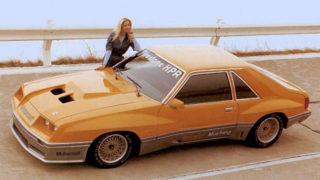Nel 1980 McLaren ha personalizzato una Ford Mustang.