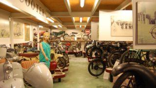 Il museo del Motociclo di Rimini ha anche una sezione dedicata agli scooter d'epoca.