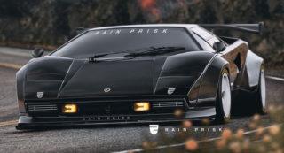 Un progetto per rendere diversa la Lamborghini Countach.