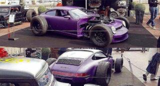 Porsche 911 modificata