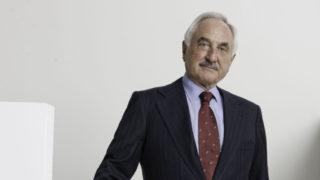 Il patron dell'azienda di Freni Brembo, Alberto Bombassei.