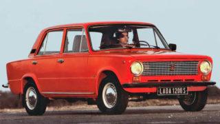 La Lada Ziguli 2101 deriva dalla Fiat 124