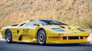 Lamborghini Diablo GT1 Stradale. Ne esistono due esemplari al mondo.