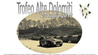 La locandina del Rally Sappada Dolomiti 2017.